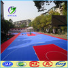 Made in china outdoor plastic used basketball floor tile
