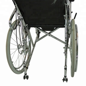 brake wheelchair /commode lightweight reclining manual wheelchair DS-609QDN