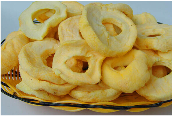 Dried Apple Rings Pure Dried Apple Fruit Snack