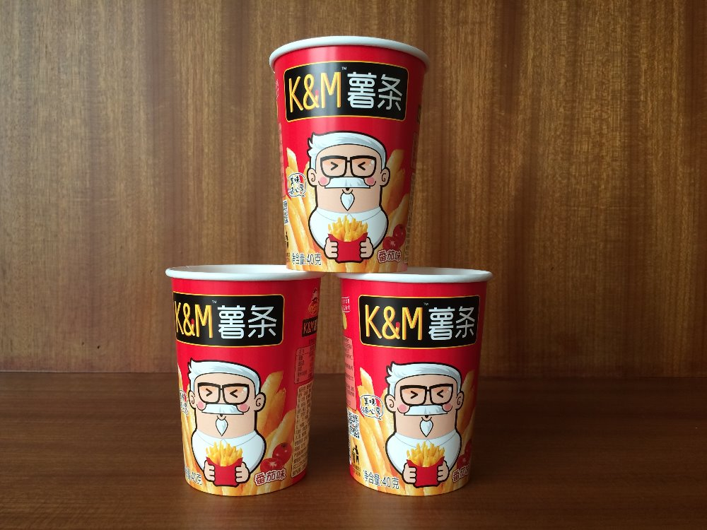 420ml Manufacturer Supply Wholesale Disposable Paper Potato Cup