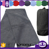 100% cotton top end open zipped pocket fitness towel gym towel sports towel