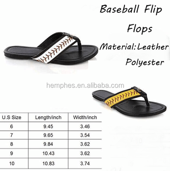 ebe850c2f Wholesale Personalized Bulk Blank Cheap Flat Baseball Flip Flops ...