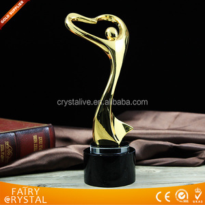 Promotional metal replica trophy awards