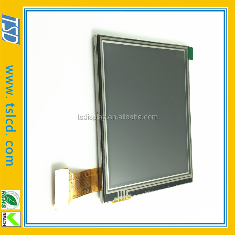 3.5 inch transflective TFT lcd module sunlight readable with 320*240 resolution &SPI/RGB interface for GPS/PDA