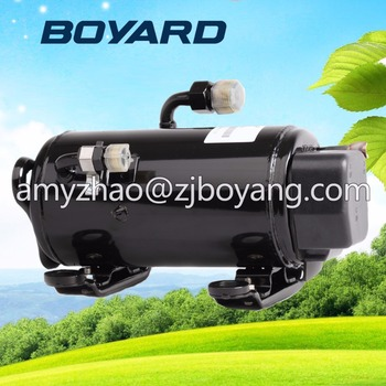 Zhejiang BOYARD R134a BLDC compressor 24volt for excavator air cooling unit