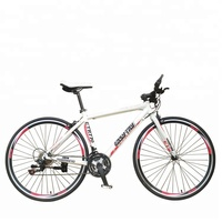 Cheap aluminum alloy frame 700C 21speed bicycle road racing bikes for sale