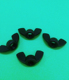 Chinese factory supply Plastic Solid Wing Nuts Butterfly Nut Plastic Nylon Black Wing Nut
