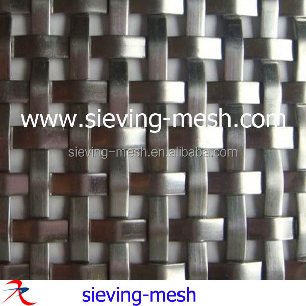 Stainless Steel Architectural Decorative Wire Mesh For Wall ...