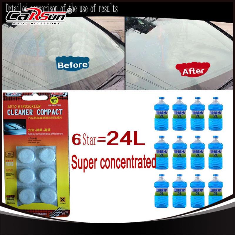 10 упак. удивительный новое поступление авто пылесос лобовое стекло автомобиля чистящее средство таблетки шипучих таблеток