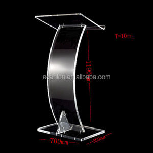 Acrylic/Lucite/Perspex lecterns