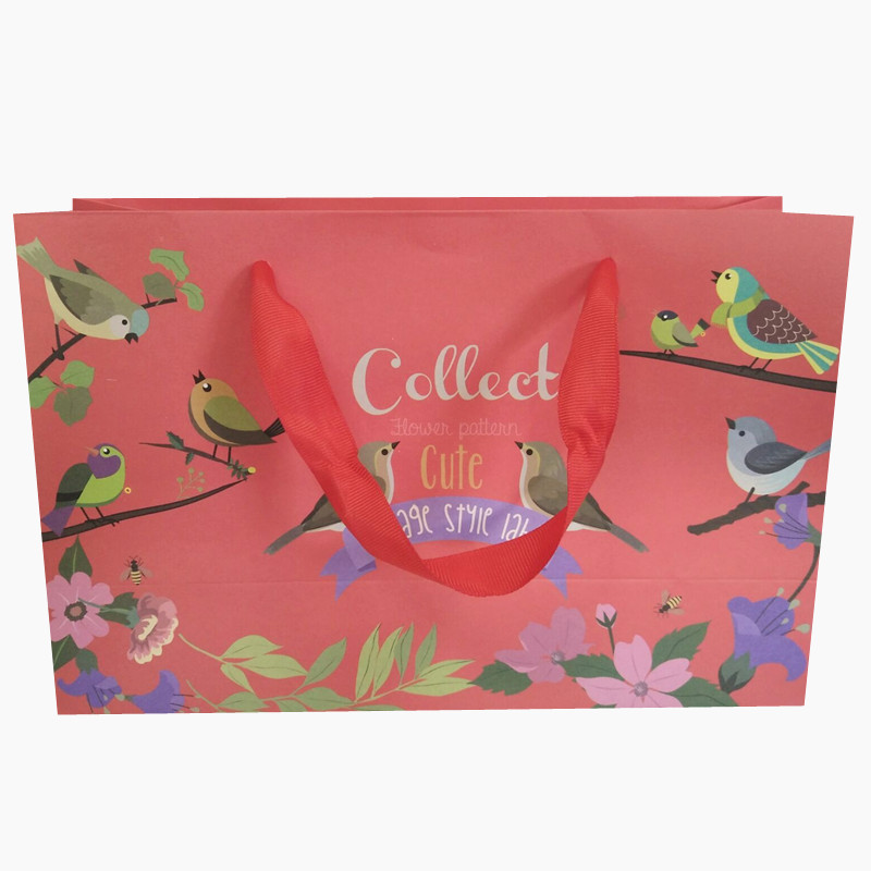 Alibaba Express Turkey China Supplier Wholesale Custom Shopping Clothes Fashion Style Paper Bag