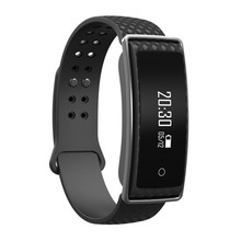 Anti lost BT smart band blood pressure music control socially connected heart rate smart bracelet