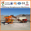 QT4-28 Semi-automatic brick making machine in israel concrete hollow block machine construction blocks machine making