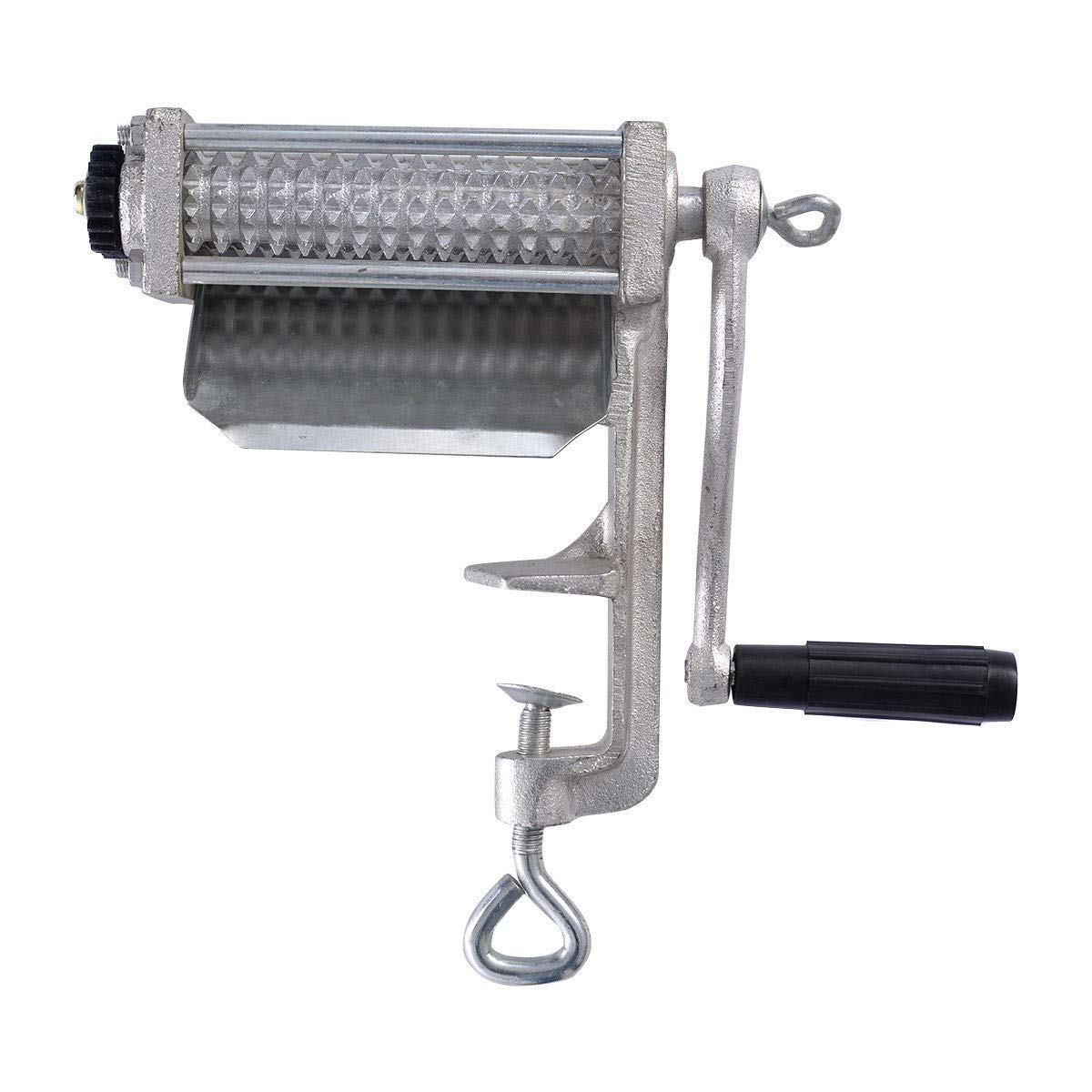 BeUniqueToday Heavy Duty Meat Tenderizer Cuber, Heavy Duty And Durable Cast Iron Construction Meat Tenderizer Cuber, Meat Tenderizer Heavy Duty Cuber Kitchen Tools, Meat Tenderizer With Spike Rollers
