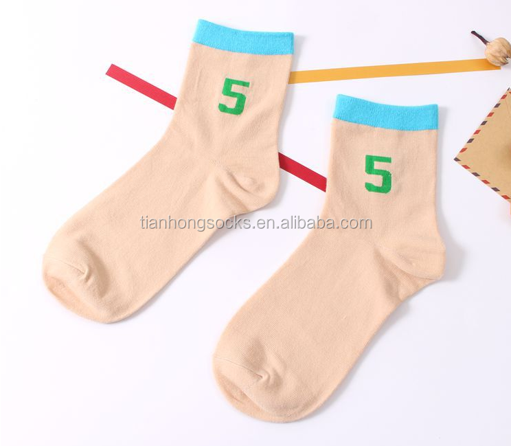 days of the week socks 7 days color rainbow gift socks single use socks