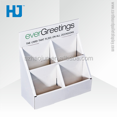 Greeting Card Display HolderCardboard Counter Display Boxes Enchanting Cardboard Card Display Stand