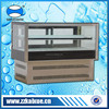 Two shelves version counter top cooler showcase