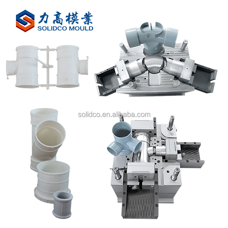 plastic pipe fitting mould pvc tube mould inject molding