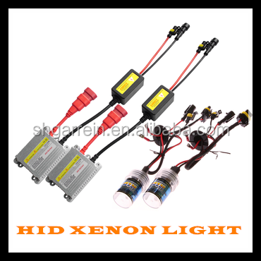 Super slim hid xenon light AC/DC 35W 55W 75W 100W auto car hid xenon light h7 hid bi xenon projector lens light h4 6000k 8000k