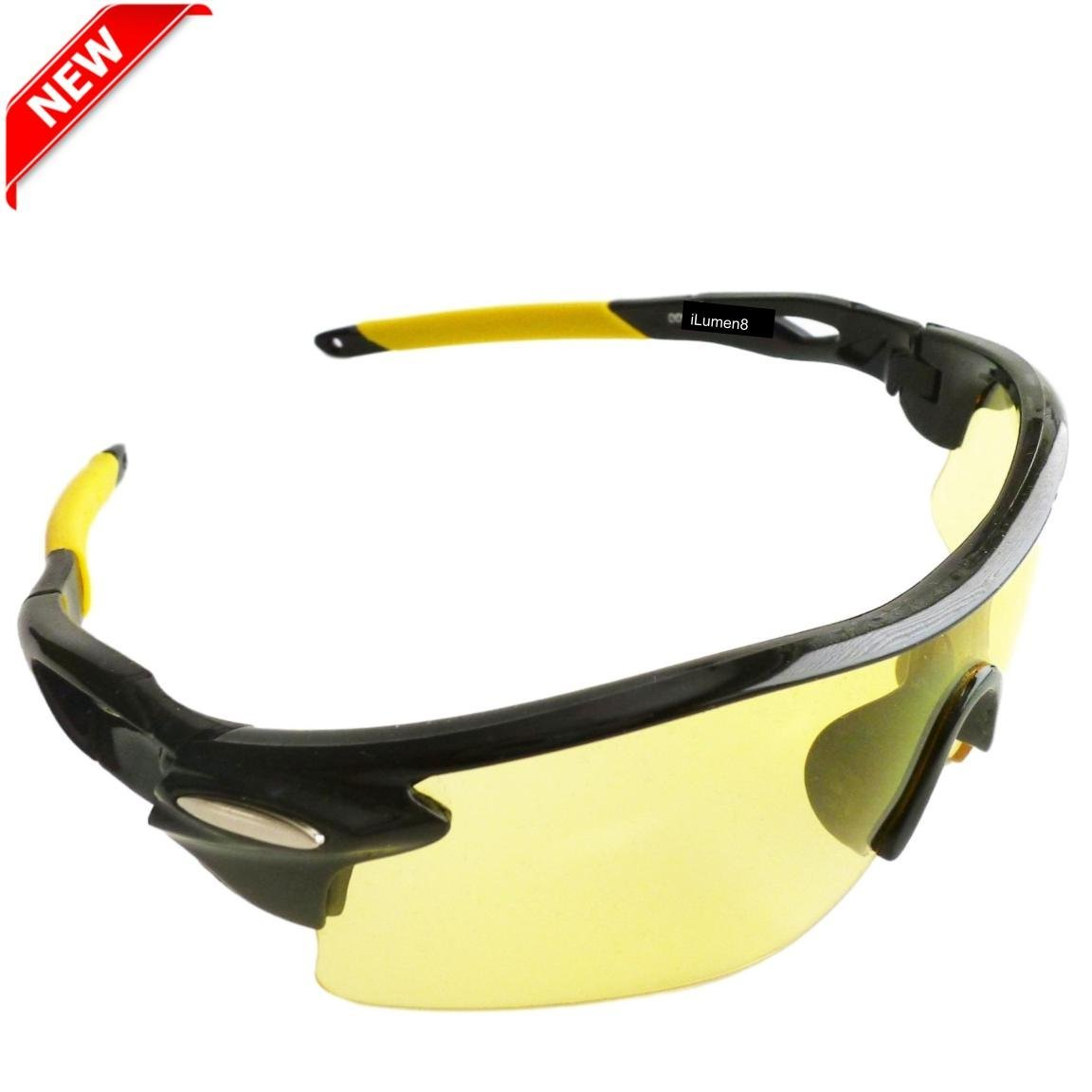 1c3b1f4e6e Get Quotations · BEST Shooting Glasses UV Blacklight Flashlight Yellow  Safety Eye protection by iLumen8. See Dog Cat