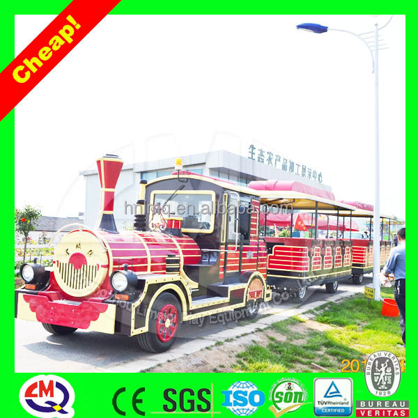 Entertainment kids ride tourist trackless train for sale