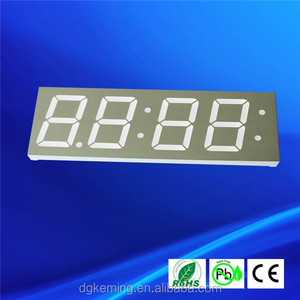 Grey face electronic digital display number segment display 4 digit 1.2 inch
