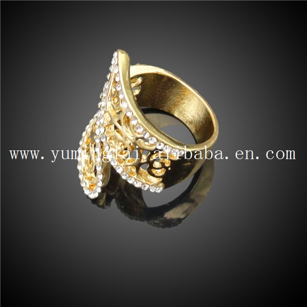 Wholesale african costume gold jewelry half set import jewelry