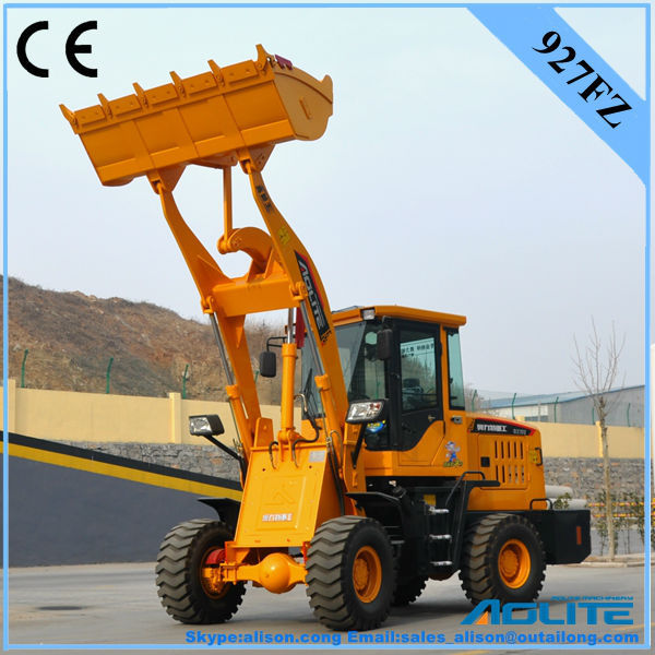 AOLITE 927FZ wheel loader attachments wtih pallet fork
