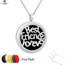 Best friend forever fragrance diffuser locket pendant young living aroma necklace