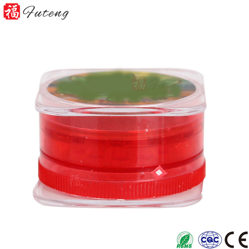 FUTENG smoking wholesale 4 piece now product Plastic Tobacco herb grinder