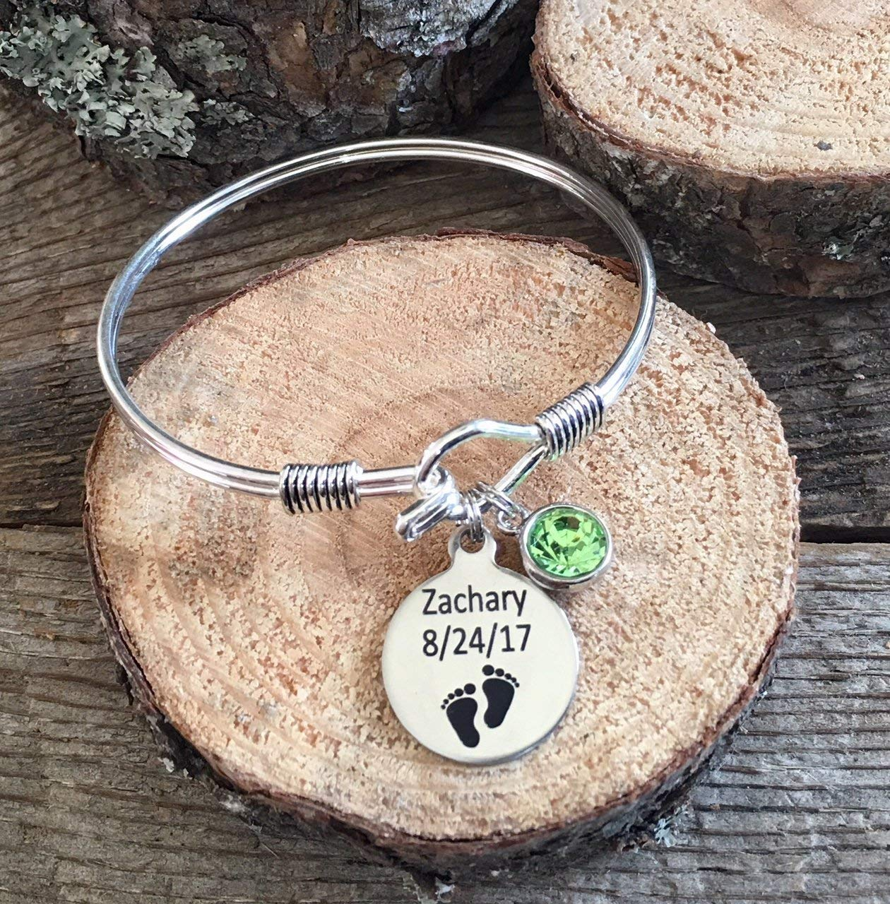 Mother's Day, Personalized gift, Gifts for Mom, new mom gift, new grandma gift, first mother's day, birthstone jewelry, birth date charm