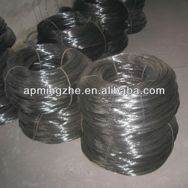 2017 cheap high quality black mild steel binding wire / soft light annealed iron wire