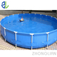 PVC fabric canvas fish tank and pool for fish and shrimp farming sale