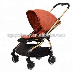 New design baby stroller with handle plastic child walker