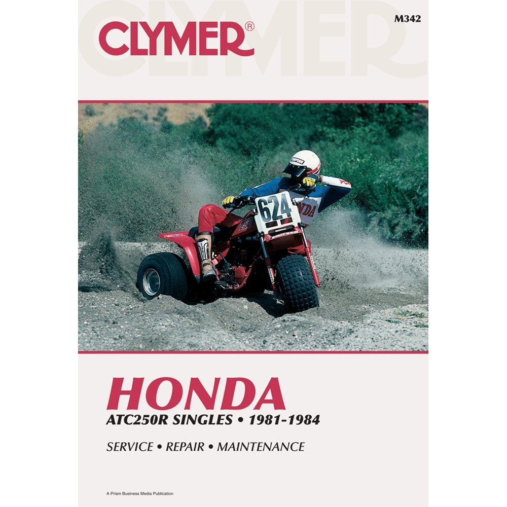 Get Quotations · 1981-1984 HONDA ATC250R SERVICE MANUAL/HONDA,  Manufacturer: CLYMER, Manufacturer Part