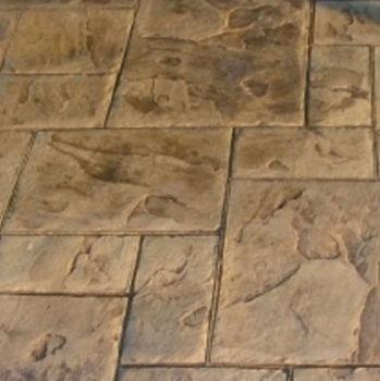Concreto estampado con concreto premezclado patio dise os for Cemento estampado precio