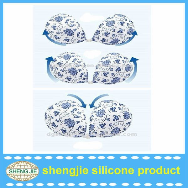 2012 Hotsale High Quality Silicone Push Up Breast Bra