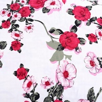 DTY spandex double brush cotton lycra fabric malaysia sewing material stores