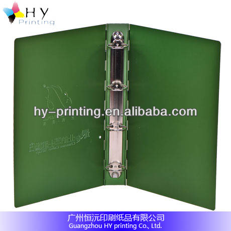 nice green painting aluminum metal decorative file folders
