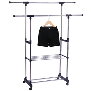 Luggage hanger garment rack clothes hangers