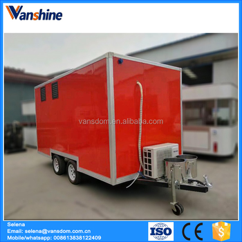 Mobile Coffee Trailer For Sale Europe Standard Outdoor Food Kiosk Price