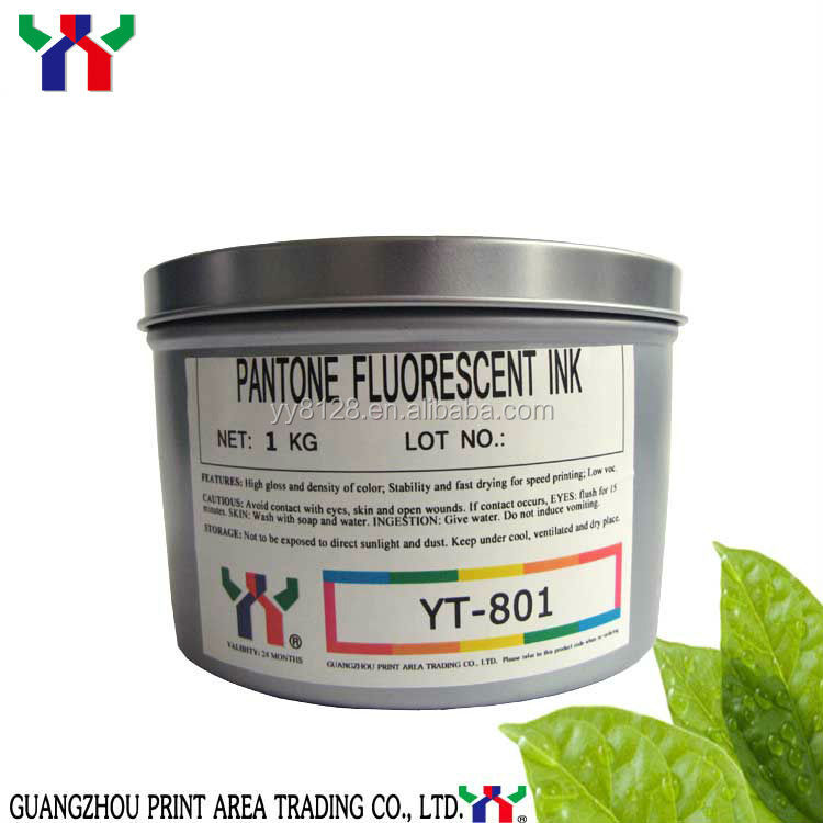 Hot Sale In France /yt-801 Offset Pantone Series Uv Fluorescent ...