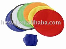 Folding Nylon Frisbee/promotion nylon frisbee with pouch