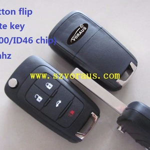 new Uncut Remote Key Fob 4 Button for sonic Cruze 315MHz ID46 (HU100)