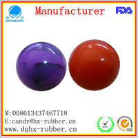 colorful /high bouncing foam/Solid/35mm/ Eco-friendly solid rubber ball for pet product/Vending Machine