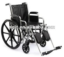 Manual steel wheelchairs provider for disabled