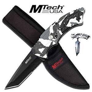MTech Unique T Hunting Knife MTech Survival Hunting Knife MTech Hunting Knife MTech Camo Knife MTech Snow Camo Knife MTech Camo Folding Knives MTech Combat Knife