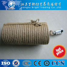 Lifesaving fire retardant cable for fire fighting construction safety rope
