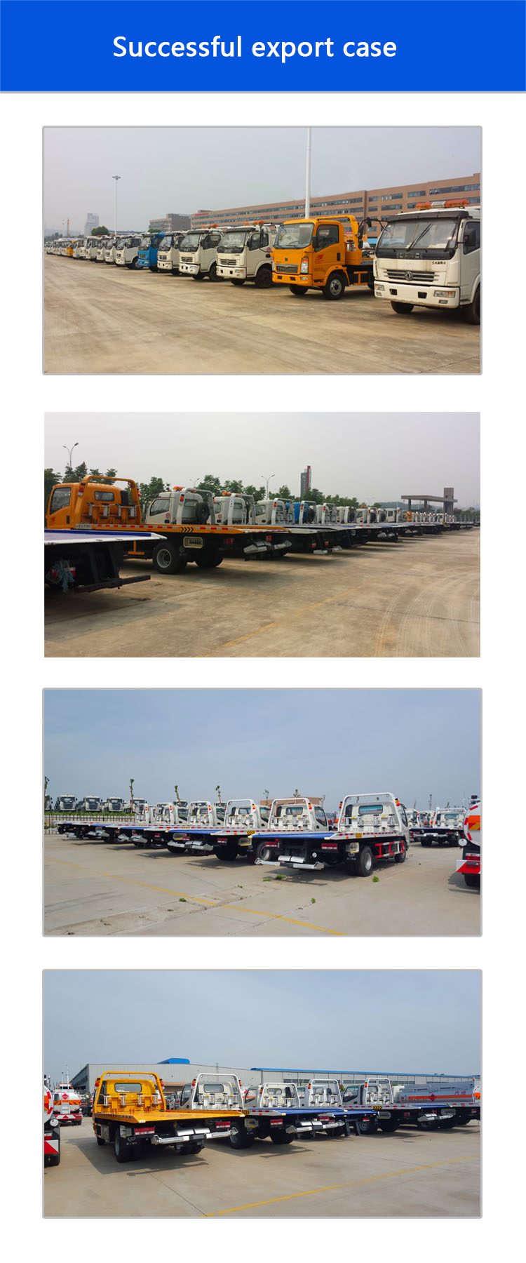 China Sinotruck Howo  Rotator Heavy Duty Wrecker Tow Truck for Sale