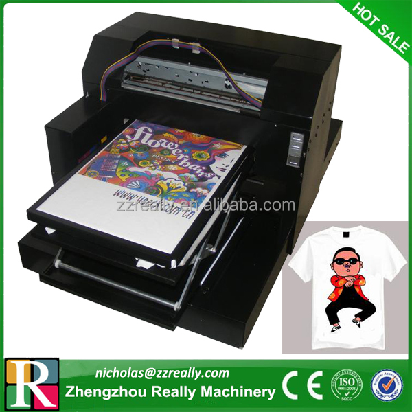 Widely used for various cloths digital t shirt printing machine
